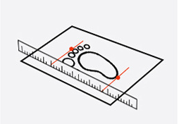 Toddler Foot Length Measure 2