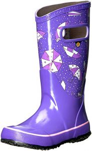 Bogs Kids Rubber Waterproof Rain Boot Boys Girls