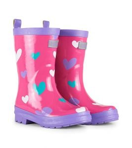 Hatley Girls' Printed Rain Boots