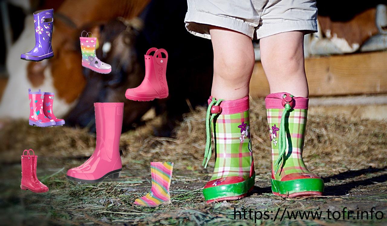 Girls Rain Boots 1