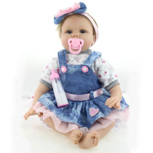"22"" Reborn Baby Doll in Skirt"