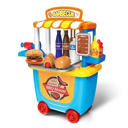 Kids BBQ Grill Toy Kitchen Set