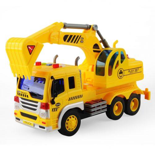 Simulation Of Engineering Construction Trucks
