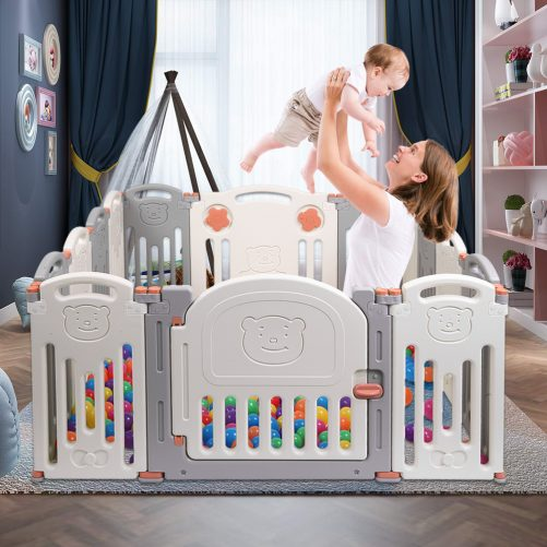 Baby Folding Safety Play Yard - Indoor Outdoor