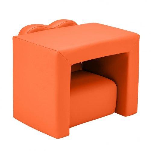 Children's Sofa 2-In-1 Orange