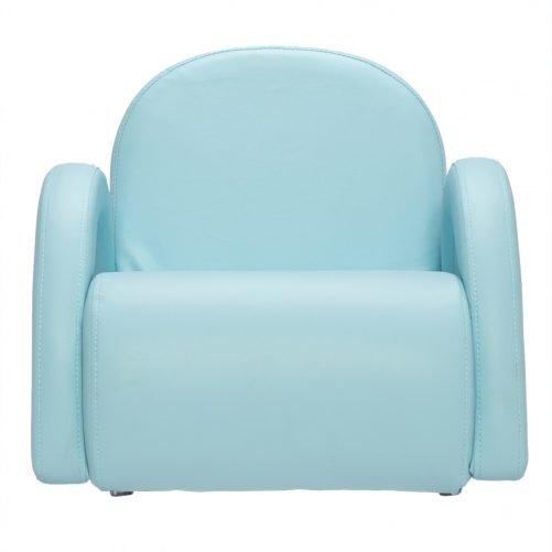 Children Single Sofa Bent Back Sky Blue