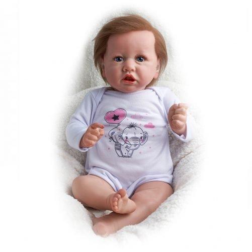 22'' Realistic Baby Doll - Cloth body