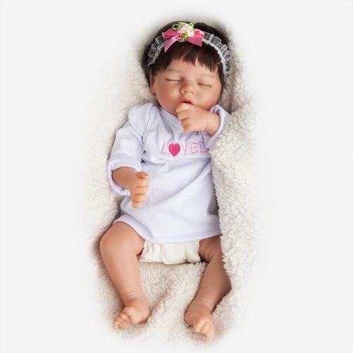 17'' Realistic Baby Doll - Silicone vinyl body