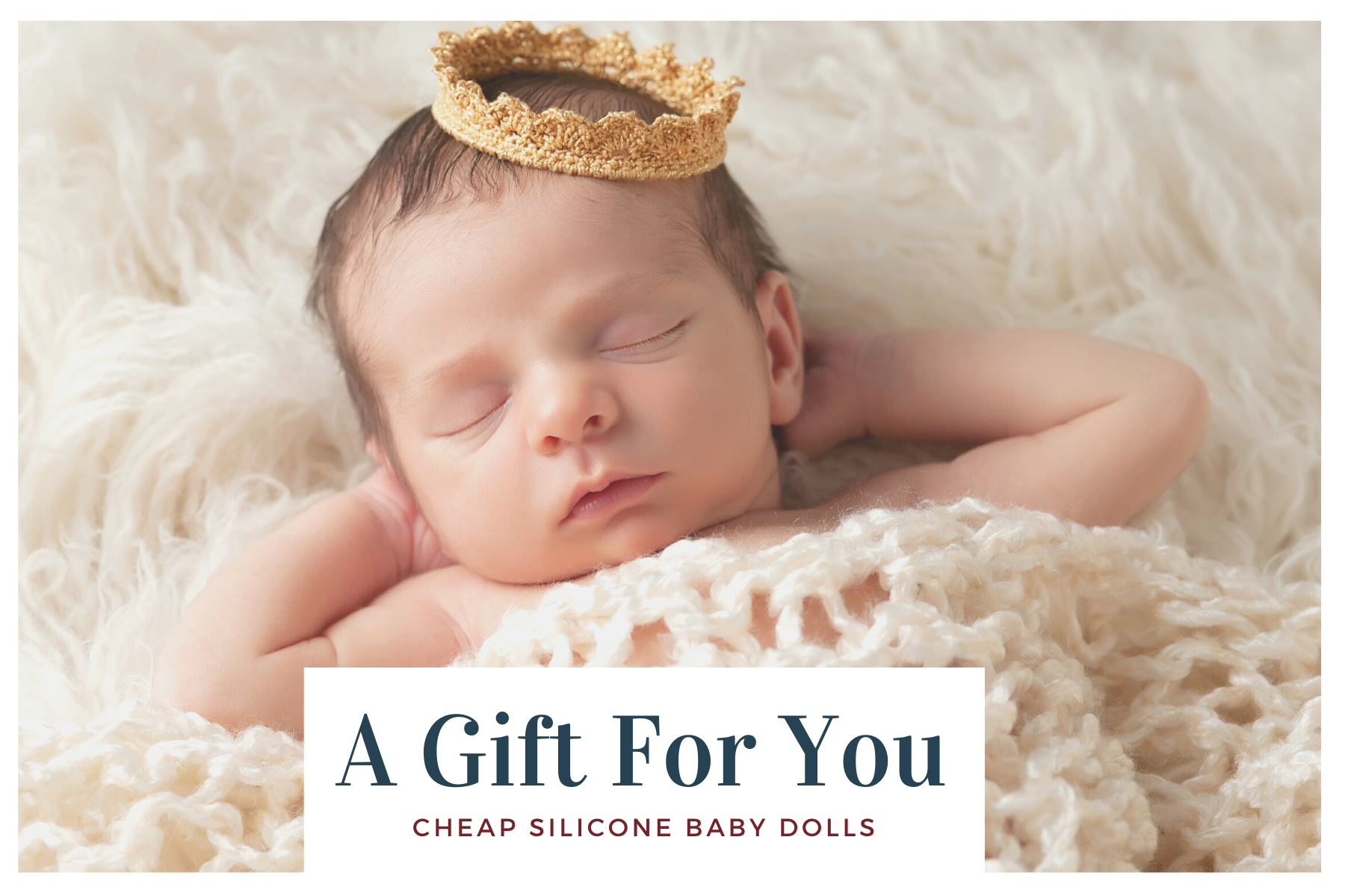 cheap silicone baby dolls