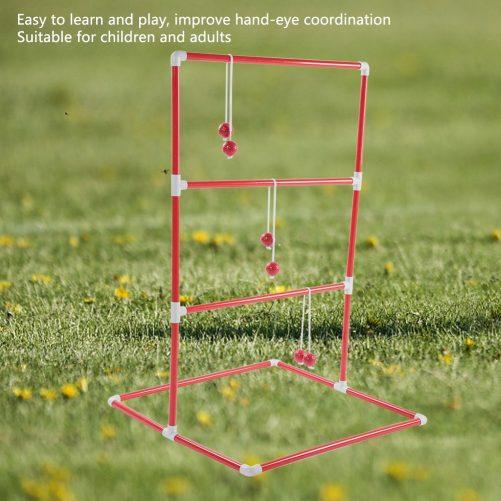 Ladder Golf Ball Throw Toss Game Toy Set