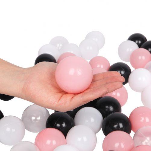 200pcs 5.5cm Plastic Ocean Ball Swim Pit Toys