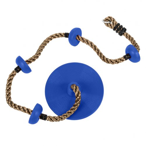 Climbing Rope Swing with Disc Swing Seat Set