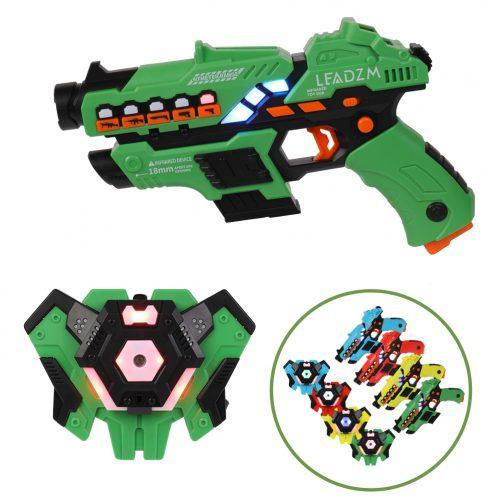 Small Laser Gun 4 Packs (Red/Yellow/Blue/Green)
