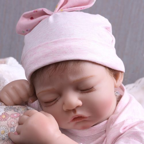"""20"""" Simulation Baby Girl in Pink Dress"""