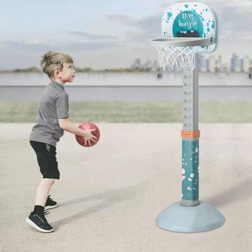 Indoor and Outdoor Height Adjustable Basketball Hoop