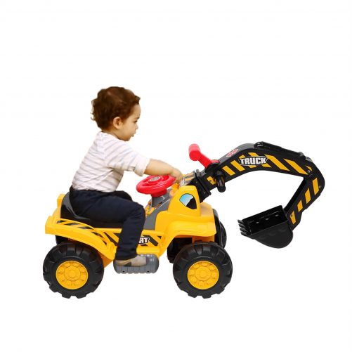Children's Excavator Toy Car Without Power