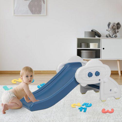 Indoor Climber Slide for Toddler Blue Color