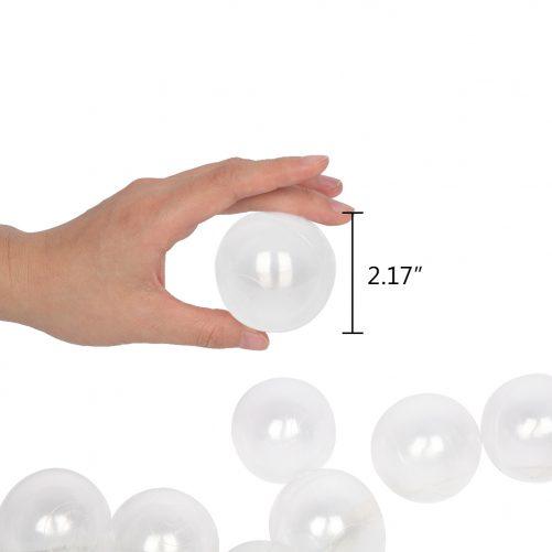 Plastic Ocean Ball Swim Pit Toys Transparent