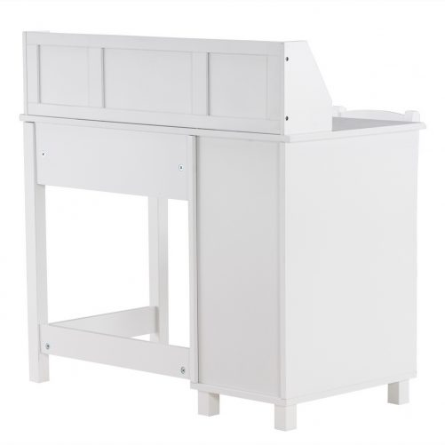 Spray Paint Student Table and Chair , White
