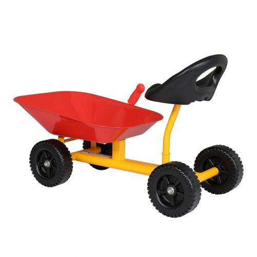 Kids Ride On Sand Dumper With Wheels, Red