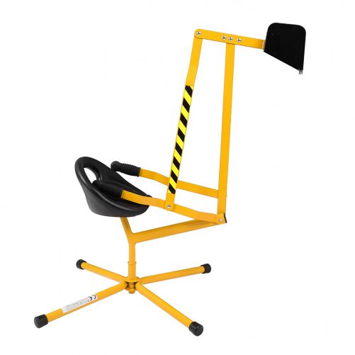 Sand Digger Ride On With 360°Rotatable Seat And Metal Base,  Yellow