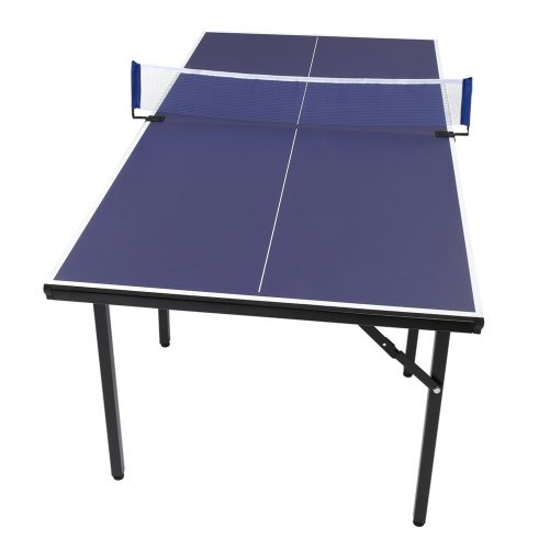 Tennis Table with Eight Legs, Purple Blue