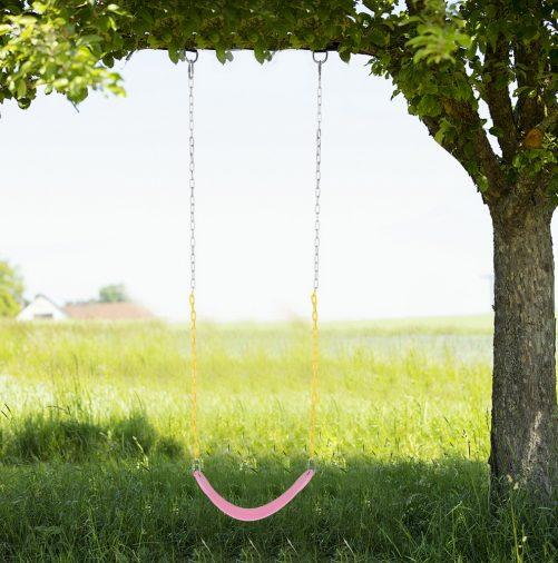 Heavy Duty Swing Seat Set, Pink