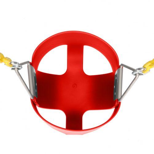Highback Full Bucket Swing, Red